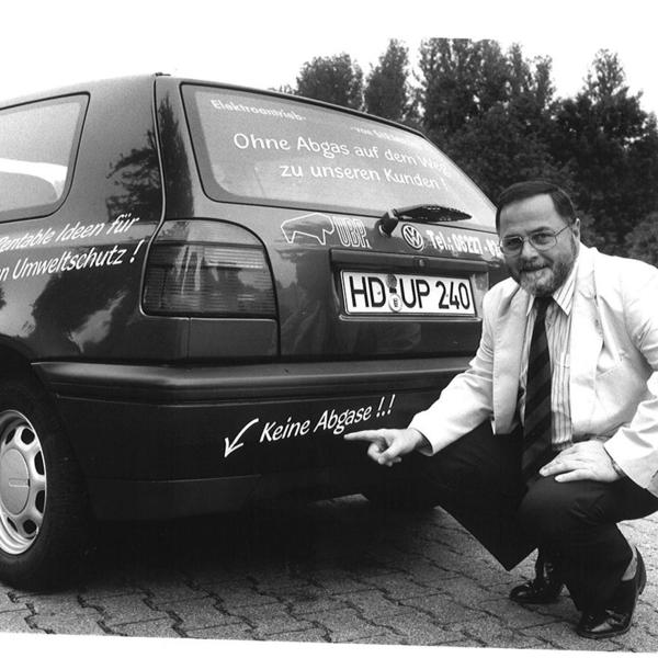 1995 - erstes Elektroauto